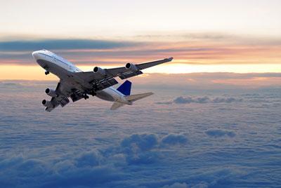 fernreise flugzeug